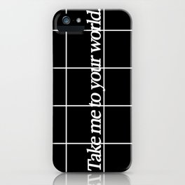 Grid #1 iPhone Case