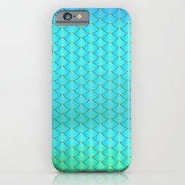 Mermaid pattern iPhone Case