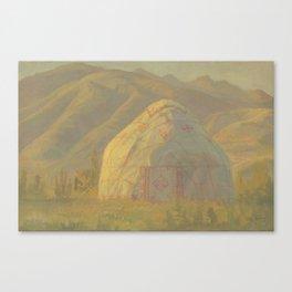 Yurt Canvas Print