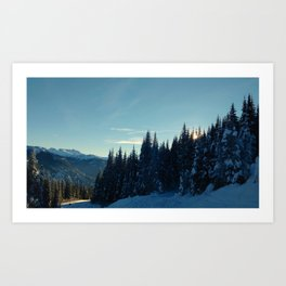 Coquihalla sunset Art Print