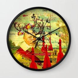 THE CATS' ROCKETS' GUARD Wall Clock