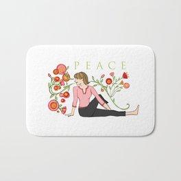 Yoga Girls_Peacefull Twist_Robin Pickens Bath Mat