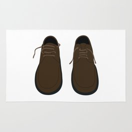 Pair Of Shoes Rug