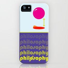 [UN] DISCIPLINE: PHILOSOPHY iPhone Case