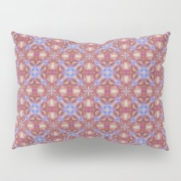 Multicolored Pastel Shade Seamless Tile Pattern Pillow Sham
