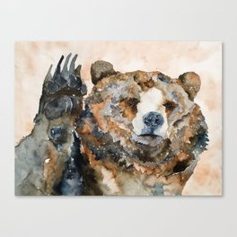 BEAR#3 Canvas Print