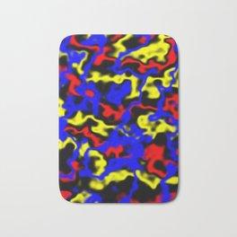 Red, Yellow, Blue Bath Mat