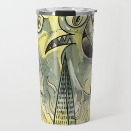 Steamechanical Octopus Travel Mug