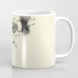 Artificial Dry Fly Fishing Lure-1969 Coffee Mug
