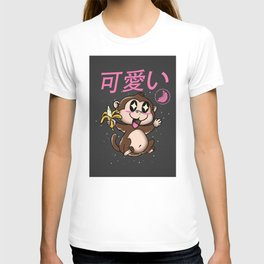 Kawaii monkey gift T-shirt