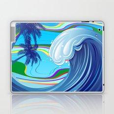 Sea Ocean big Wave Laptop & iPad Skin
