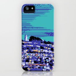 Night Over the San Francisco Mission iPhone Case