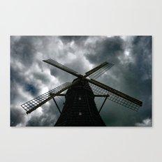 Sky Mill Canvas Print