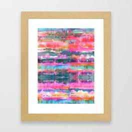 Kiana Stripe Framed Art Print