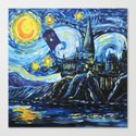 Tardis Starry Night Castle by vikachan