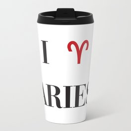I heart Aries Travel Mug