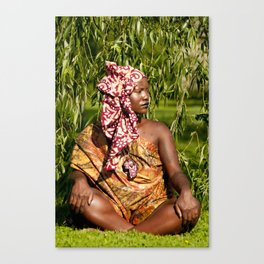 OF THE QUEEN  Canvas Print