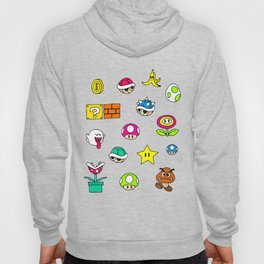 Mario pattern Hoody