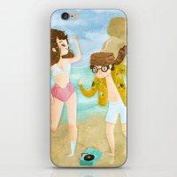 moonrise kingdom iPhone & iPod Skins featuring Moonrise Kingdom by Irena Freitas
