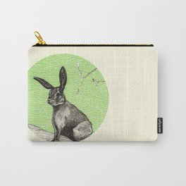 A rabbit Carry-All Pouch