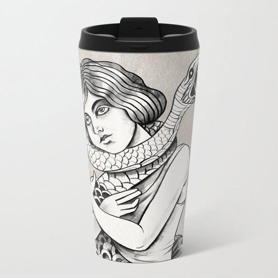 Love and Pain Metal Travel Mug