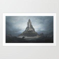 White Castle ( New Edition ) Art Print