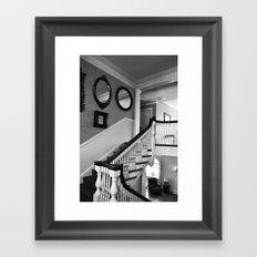 Haunted Hotel Framed Art Print