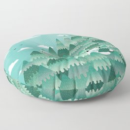 Tree Hugger (Spring & Summer version) Floor Pillow