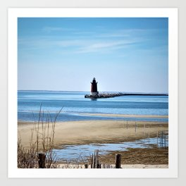 Lewes Lighthouse Art Print