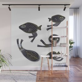underwater surreal creatures Wall Mural