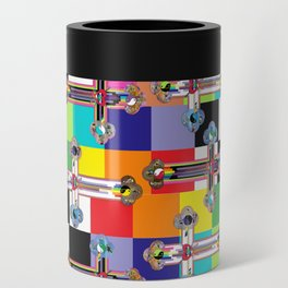 Jesus is The New Pattern 2 Can Cooler