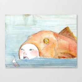 Plenty of fish Canvas Print
