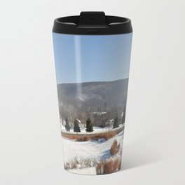 Winter Snow Scene Landscape Photo Travel Mug