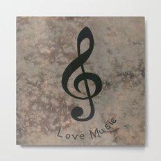 Music-122 Metal Print