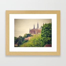 Church of St. Barbara in Kutna Hora Framed Art Print