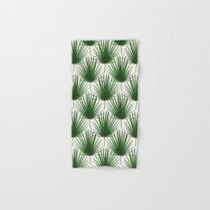 Simple Palm Leaf Geometry Hand & Bath Towel