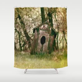 To Go, Or Not To Go.... Shower Curtain