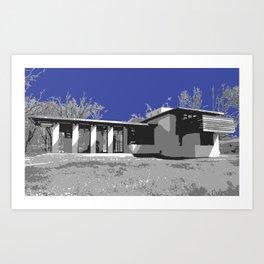 Usonian 3 Art Print