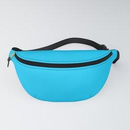Solid Color Aqua Blue Fanny Pack