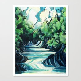 Water Ways Canvas Print