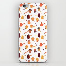The long handle cezve coffee iPhone Skin