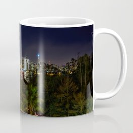 Bay Bridge Lights Coffee Mug
