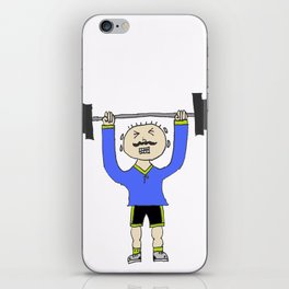 Work it out! iPhone Skin