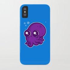 Super Cute Squid iPhone X Slim Case