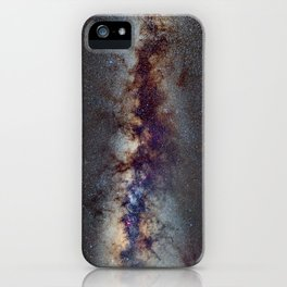 The Milky Way: from Scorpio and Antares to Perseus iPhone Case