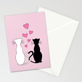 Cats with Love Stationery Cards