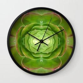 Cactus Mandala Wall Clock
