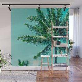 Keanae Tropical Summer Palm Trees Maui Hawaii Wall Mural