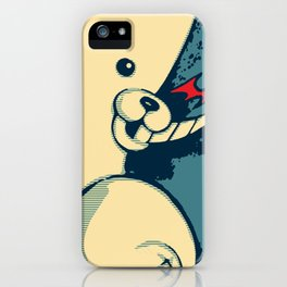 Monokuma: Vote For Ultimate Despair. A Danganronpa design iPhone Case