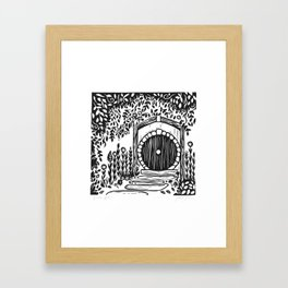 Under Hill Framed Art Print